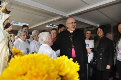 El Arzobispo Don Carlos Osoro visita la Residencia