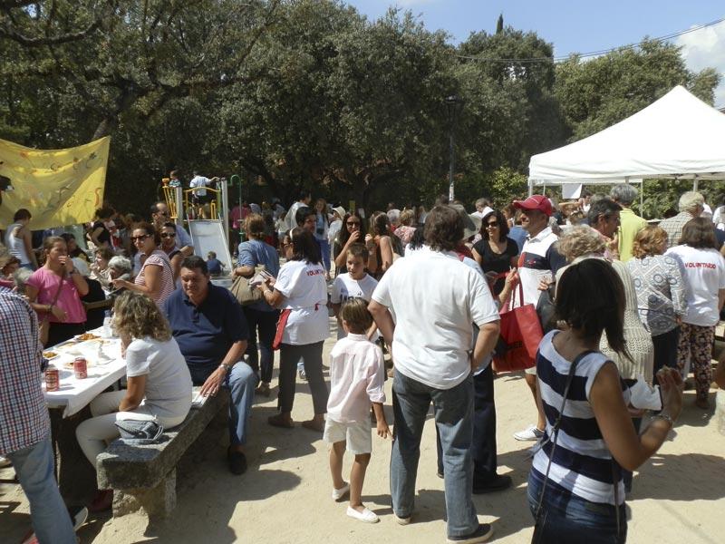 5 de Julio 2014, Fiesta Benéfica Parroquial en Apoyo de la Residencia