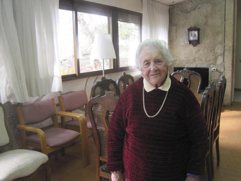 Trini Muñoz cumplió 100 años